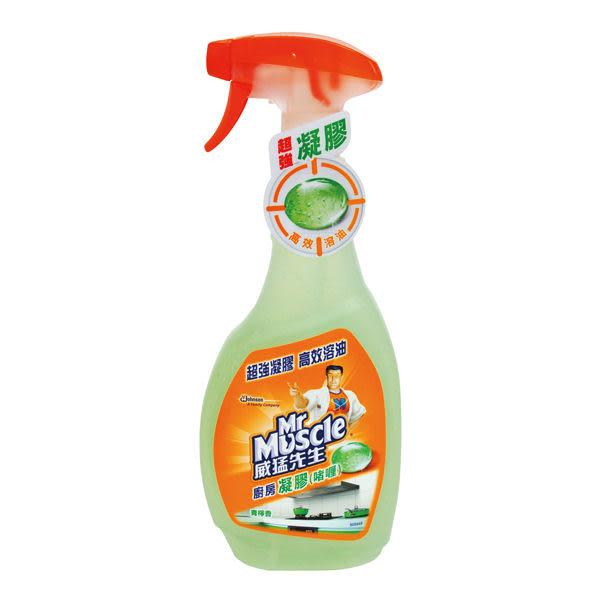 【威猛先生】廚房凝膠噴槍瓶(青檸香) 500g