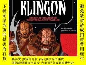 二手書博民逛書店How罕見To Speak Klingon-如何說克林貢語Y436638 Ben Grossblatt Chr