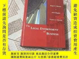 二手書博民逛書店THE罕見LEGAL ENVIRONMENT OF BUSINE