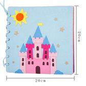 蒙特梭利早教布書 幼兒園自制繪本diy 兒童手工diy 制作材料包【小梨雜貨鋪】