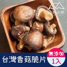 台灣香菇脆片1入(100g/包)【小旭山脈】