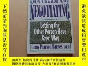 二手書博民逛書店Successful罕見Negotiating : Letting the Other Person Have Y