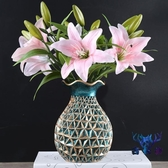 飾品擺設花瓶擺件客廳插花桌面餐桌酒柜裝個性創意【古怪舍】