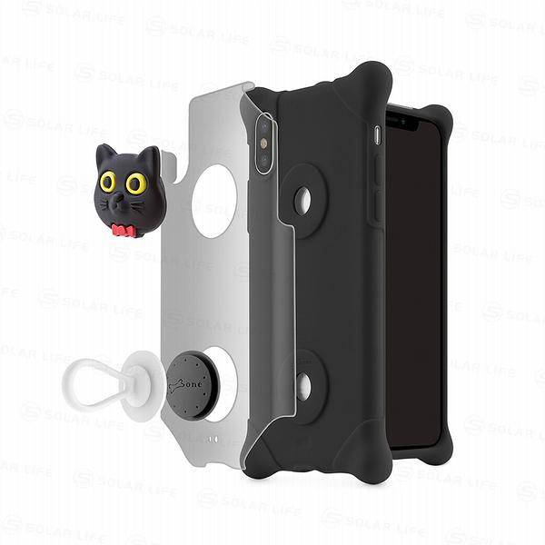 iPhone X 泡泡保護套-貓咪