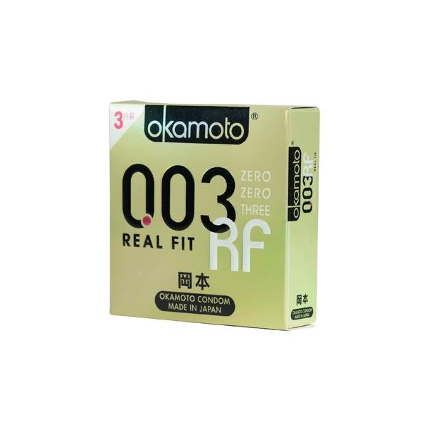 Okamoto岡本衛生套-003RF貼身3入
