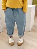 牛仔褲男童牛仔褲春秋外穿女童3歲兒童褲子春款4男寶寶春裝小童童裝女潮 新品
