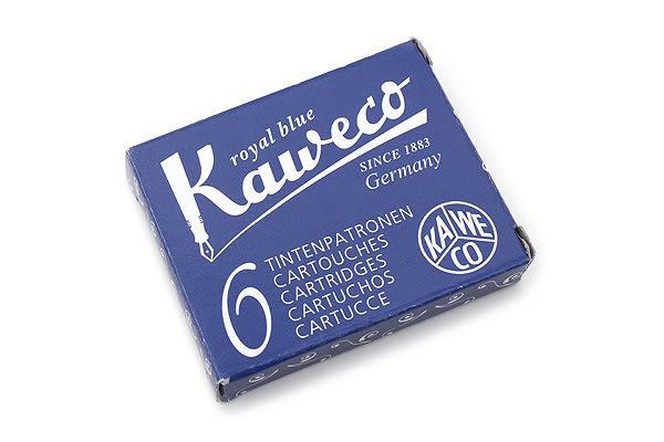 德國KAWECO藍色彩色墨水管3盒入