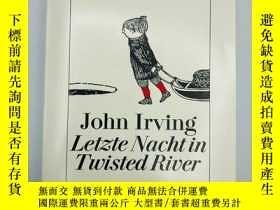 二手書博民逛書店Letzte罕見Nacht in Twisted River (