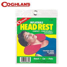 丹大戶外【Coghlans】加拿大 HEAD REST 吹氣U型枕頭 8832