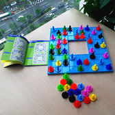 兒童九宮格顏色數獨邏輯推理數學能力訓練5-7-10歲-交換禮物
