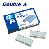 【Double A】釘書針10號 (1000支/盒)  (單盒)