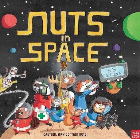 『線上聽.手上讀』NUTS IN SAPCE 英文繪本 (免費線上聽故事)
