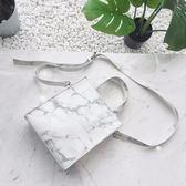 【Z516062】大理石紋造型手提包/單肩包/側背包/斜背包/斜跨包-Clara