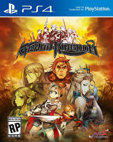PS4 Grand Kingdom 宏偉王國(美版代購)