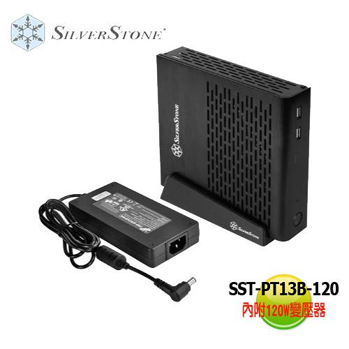 SilverStone 銀欣 SST-PT13 B-120 Mini-ITX 機殼