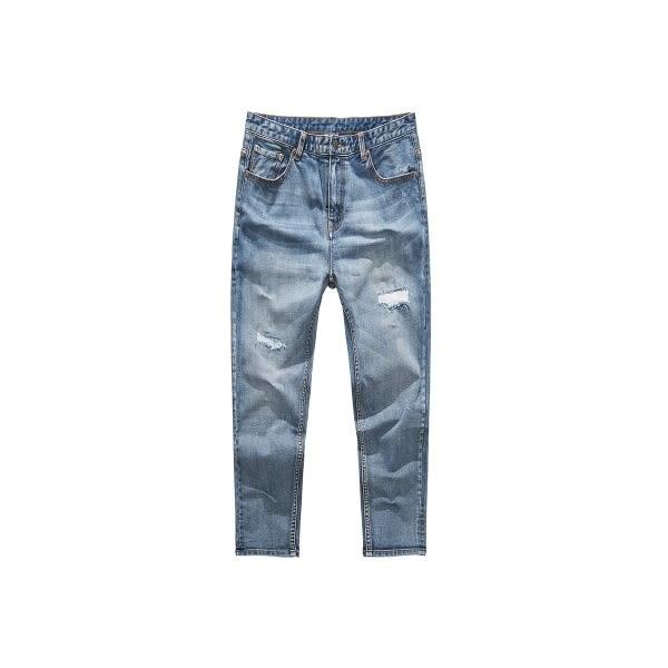 CACO-破壞補丁牛仔褲-男【UNA047】
