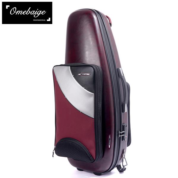 小叮噹的店- 次中音薩克斯風 琴盒 Omebaige 防水硬盒 Tenor Sax ON02-TSC