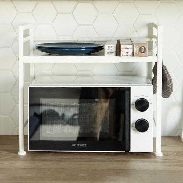 微波爐架 廚房置物架 電器架 廚房收納【E0060】Dorothy多功能微波爐收納架 完美主義
