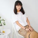 【慢。生活】純色拼接蕾絲棉質上衣 9925 FREE白色