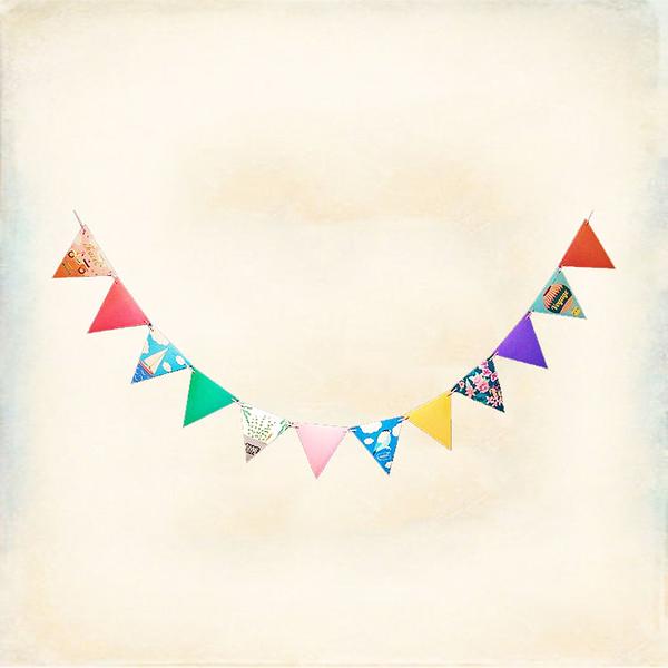 Melek 掛飾類 (共1色) 現貨【A01160803-0103】女配件三角旗幟 掛飾/三角旗/裝飾