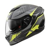 【東門城】ZEUS ZS1600 AK6 (消光碳纖/灰) 全罩式安全帽