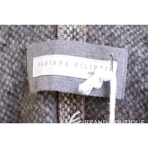 FABIANA FILIPPI 咖啡x駝色拼接西裝外套 1240164-06
