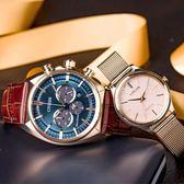 【滿額贈電影票】CITIZEN Eco-Drive 古典佳偶光動能情侶腕錶 CA4283-04L+EM0503-83X 熱賣中!