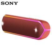 SONY 無線藍牙喇叭SRS-XB32-紅【愛買】