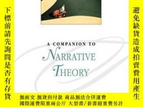 二手書博民逛書店A罕見Companion To Narrative Theory (blackwell Companions To