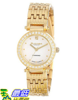 [美國直購 USAShop] 手錶 Rudiger Women s R2500-02-009 Diamond Accent Watch $18608