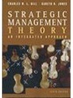 二手書博民逛書店 《Strategic Management Theory: An Integrated Approach》 R2Y ISBN:0618318194│Hill