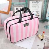 粉色少女心大容量化妝包韓國防水洗漱包