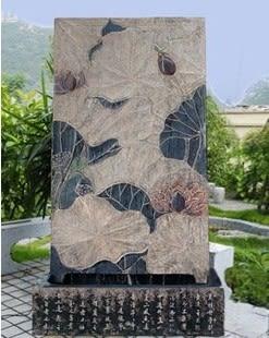 [超豐國際]門廳家居酒店風水擺件 落地大噴泉魚缸 愛蓮水景