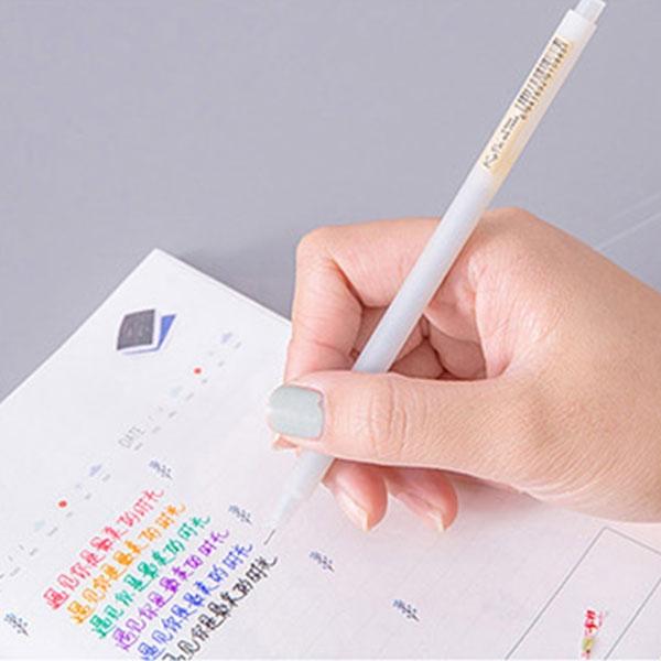 【BlueCat】無印風KUPA霧面磨砂彩色中性筆
