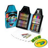 美國Crayola繪兒樂 蠟筆娃娃禮盒組 墨鏡藍 麗翔親子館