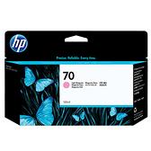 【奇奇文具】HP C9455A NO.70淡洋紅色繪圖機墨水匣