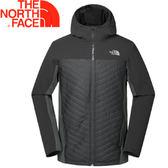 【The North Face 男款 彈性抗磨保暖外套《黑》】365RJK3/外套/連帽外套★滿額送
