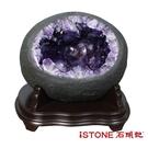 天然紫水晶洞 M (17.77公斤聚寶盆) 石頭記