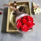 香皂玫瑰花禮盒送媽媽韓國創意520生日禮物送女友老師母親節禮品 【週年慶免運八五折】