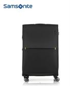 Samsonite 新秀麗 28吋 STRARIUM 2020新款防盜拉鍊 可擴充極輕量3.9KG 行李箱-(黑) GU6
