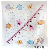 新生兒純棉超柔吸水紗布包巾毛巾