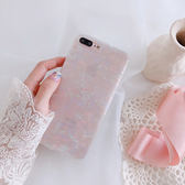 少女夢幻貝殼6plus蘋果x手機殼iPhone7plus/8/6s創意清新軟保護套
