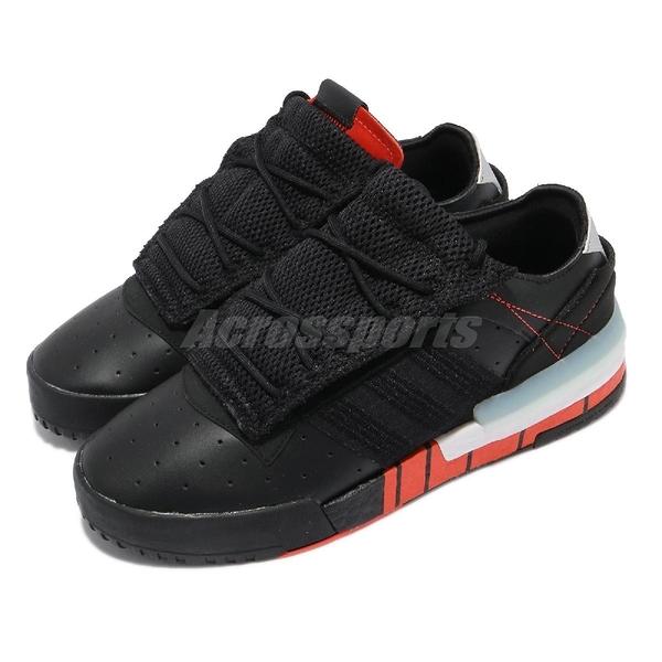 【海外限定】adidas 休閒鞋 Rivalry RM Low 黑 紅 三葉草 愛迪達 男鞋 復古 【ACS】 FW2274