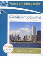 二手書博民逛書店 《Introduction to Management Accounting-Full Book(14版)》 R2Y ISBN:0132405695│Horngren