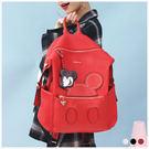 後背包-迪士尼個性鉚釘米奇大容量後背包-共3色-A12121672-天藍小舖