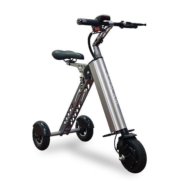 【南紡購物中心】CARSCAM K型智能三輪折疊電動車