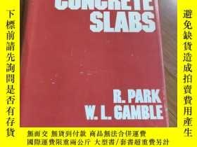 二手書博民逛書店鋼筋混凝土板罕見reinforced concrete slabs 【英文版】Y198616 見圖 見圖