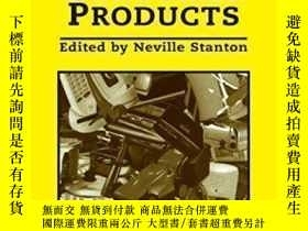 二手書博民逛書店Human罕見Factors In Consumer Products-消費品中的人為因素Y436638 Ne