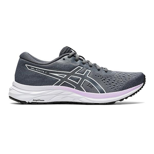 Asics Gel-excite 7 [1012A562-023] 女鞋 慢跑 運動 輕量 緩衝 彈力 亞瑟士 灰 白