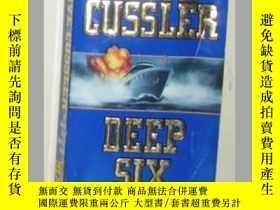 二手書博民逛書店【英文原版書】罕見Deep Six [ Clive Cussle
